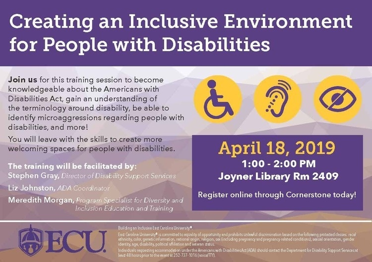 Creating an Inclusive Environment for People with Disabilities