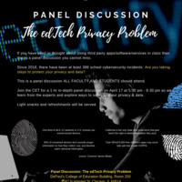 Panel Discussion: The EdTech Privacy Problem
