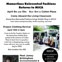 MamerSass Reinvented Fashions Visits MICA