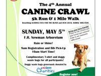 Canine Crawl 5K and 1 mile walk