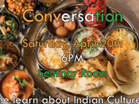 Cultural Series: Indian Food and Conversation