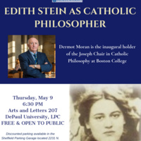 Edith Stein as Catholic Philosopher