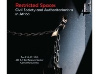 Institute for African Development Spring Symposium 2019: restricted Spaces: Civil Society and Authoritarianism in Africa