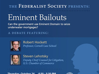 Eminent Bailouts