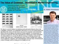 Value of Coolness, Quantitative Market Engineering