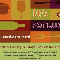 DPUBLC Faculty and Staff Potluck Reception