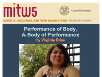 Performance of Body,  A Body of Performance  by Virginia Grise