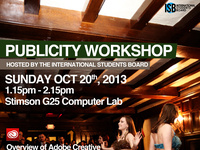 ISB Publicity Workshop