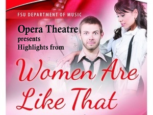 "FSU Opera Theatre: Highlights From Mozart's Comic Opera ""Cosi fan tutte"""