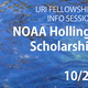 URI Fellowships Info Session - NOAA Hollings Scholarship