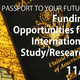 URI Fellowships Info Session - Funding Opportunities for International Study/Research