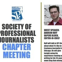 Society of Professional Journalists Chapter Meeting