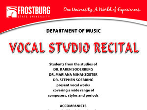Voice Studio Recital #1