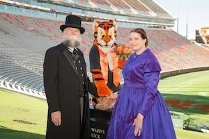 Thomas and Anna Clemson's 175th wedding anniversary