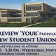 Preview The Proposed New Student Union