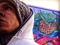 Talk and demonstration by Brazil's phenomenal street artist,