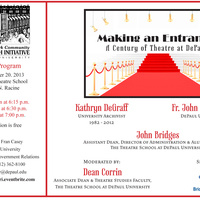 Making An Entrance: Century of Theatre at DePaul