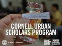 2014 Cornell Urban Scholars Program Info Session