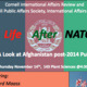 Life After NATO: A Look at Afghanistan Post-2014