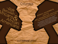The Rift Between African Americans and Africans