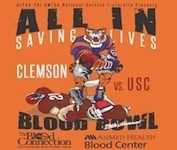 Clemson-USC Blood Bowl