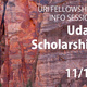 URI Fellowships Info Session - Udall Scholarship