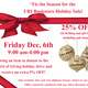 URI Bookstore Holiday Sale
